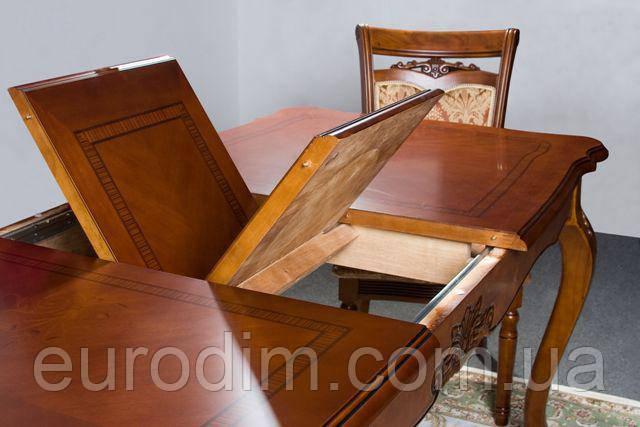 Стол обеденный обеденный D2821 орех, фото 2