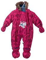 Комбинезон зимний для девочки Gusti Boutique GWG 2547.