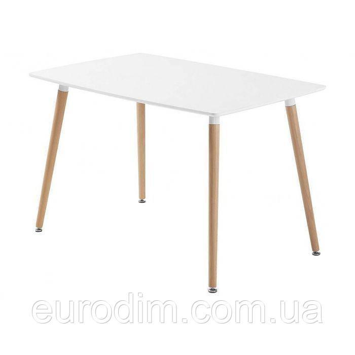 Стол NOLAN DT-9017 прямоугольный  белый 120 см