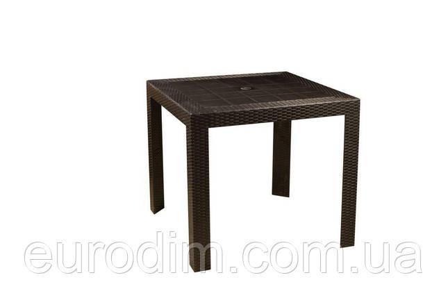 Стол OW-T209S квадратный черный, фото 2