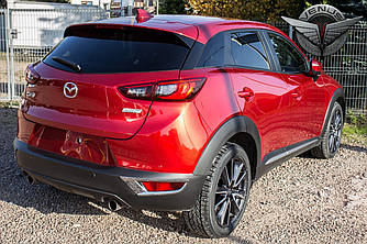 Хром накладки на задние ПТФ Mazda CX-3