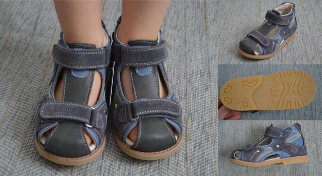 Ортопедические сандалии Orthobe 002 Blue grey фото