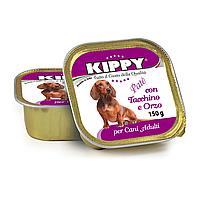 Консерва KIPPY Dog ИНДЕЙКА и ЯЧМЕНЬ 150г - паштет для собак