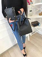 Женская сумка с клатчем №40-9015