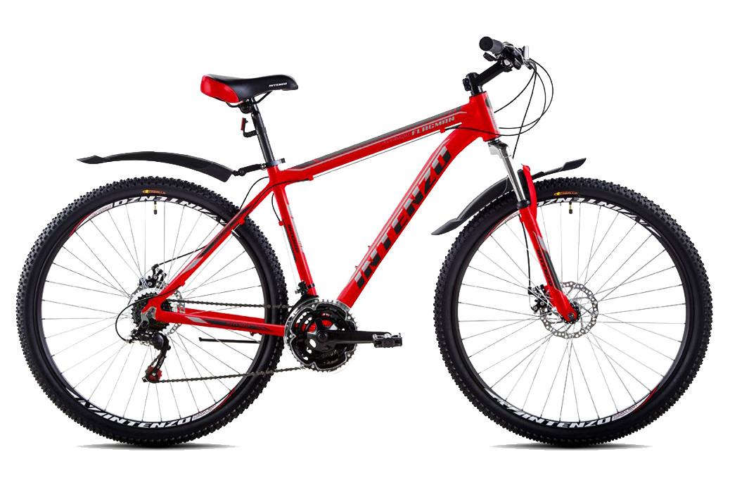 """Горный велосипед INTENZO FLAGMAN 29"""", 19""""   Красный"""