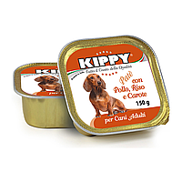 Консерва KIPPY Dog КУРИЦА, РИС и МОРКОВЬ 150г - паштет для собак