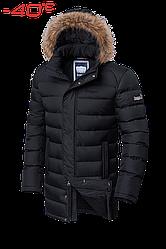 Куртка Braggart Aggressive зимняя, капюшон съемный на молнии, опушка отстегивается