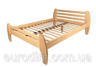 Кровать Нова (1600*2000) щит сосна 1810 x 2090 x 800  натуральный, венге, фото 2