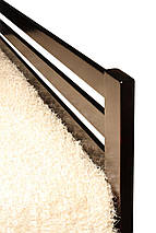 Кровать Классик (1800*2000) щит сосна 1900 x 2090 x 800 орех темный, венге, фото 2