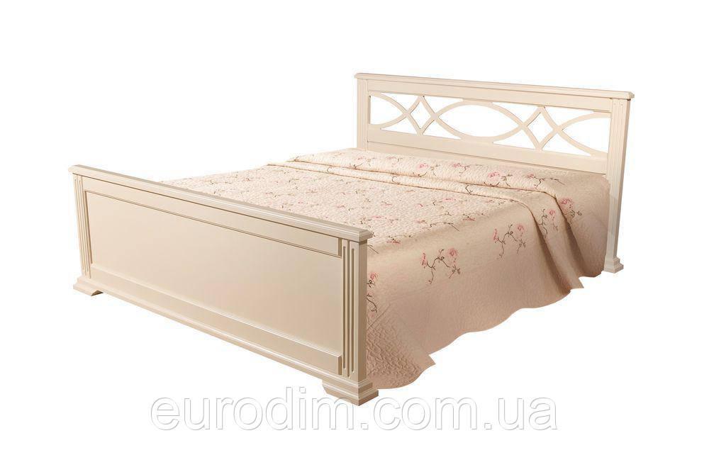 Кровать Мрия белый, беж