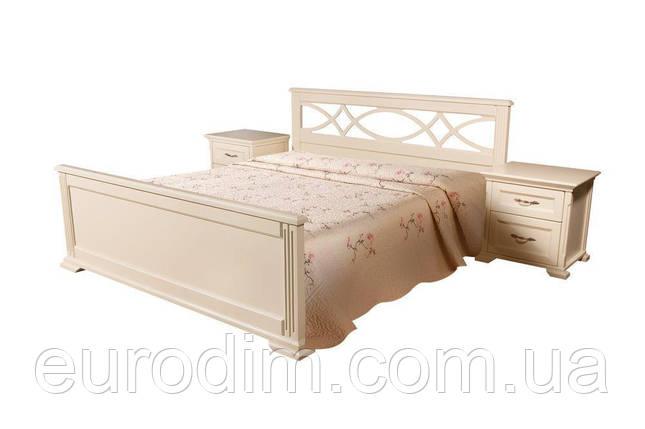 Кровать Мрия белый, беж, фото 2