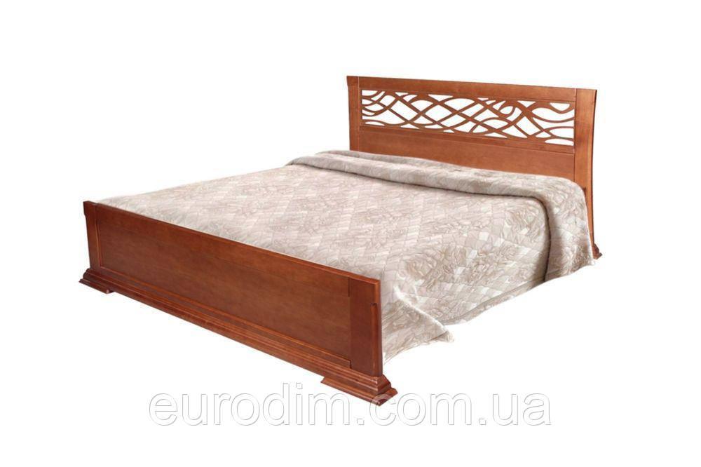 Кровать Лиана Нова 1600 х 2000 орех, темный орех