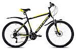 """Горный велосипед INTENZO LEGION 26"""", 21""""   Черный/Желтый"""