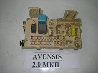 Блок предохранителей сервис Toyota Avensis T25 03-09 (Тойота Авенсис Т25)