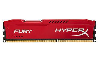 Модуль памяти для компьютера DDR3 4Gb 1600 MHz HyperX Fury Red Kingston