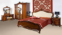 Кровать (1600*2000) 8675 2150 х 1900 х 1400 орех