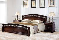 Кровать (1800*2000) 9901  темный орех