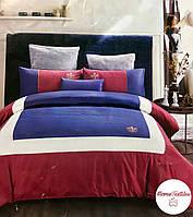 Шикарный комплект постельного белья из египетского хлопка евро Alltex