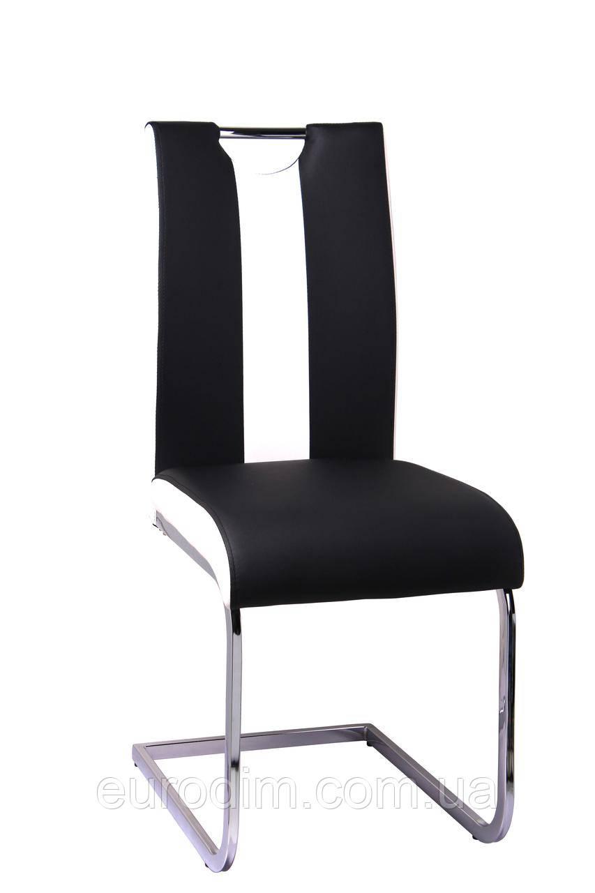 Стул кухонный Орландо DS - 1007-1 Black+White