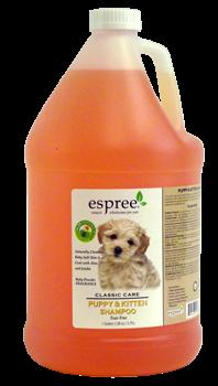 Espree PUPPY & KITTEN Shampoo, 3,79 л - гипоаллергенный шампунь «без слез» для котят и щенков