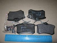 Колодка торм. AUDI A4 1.8-2.5 -04,A6 -05;VW GOLF II-III -98,PASSAT -00 задн. (пр-во REMSA) 0263.01