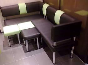 Кухонный уголок  Хай Тек два цвета для маленькой кухни