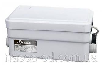 Канализационный насос станция сололифт Sprut WCLift 250/2 для санузлов 0.25кВт Hmax5м Qmax80л/мин