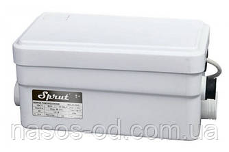 Канализационная станция сололифт Sprut WCLift 250/2 для санузлов 0.25кВт Hmax5м Qmax100л/мин