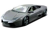 Автомодель Bburago LAMBORGHINI REVENTON матовый белый, серый металлик 1:24, 18-21041