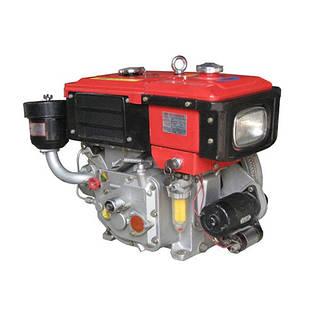 Дизельный двигатель с водяным охлаждением Bulat R180NE (8,0 л.с., стартер)