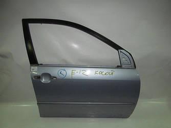Дверь передняя правая под косой замок Corolla E12 00-06 (Тойота Королла Е12)