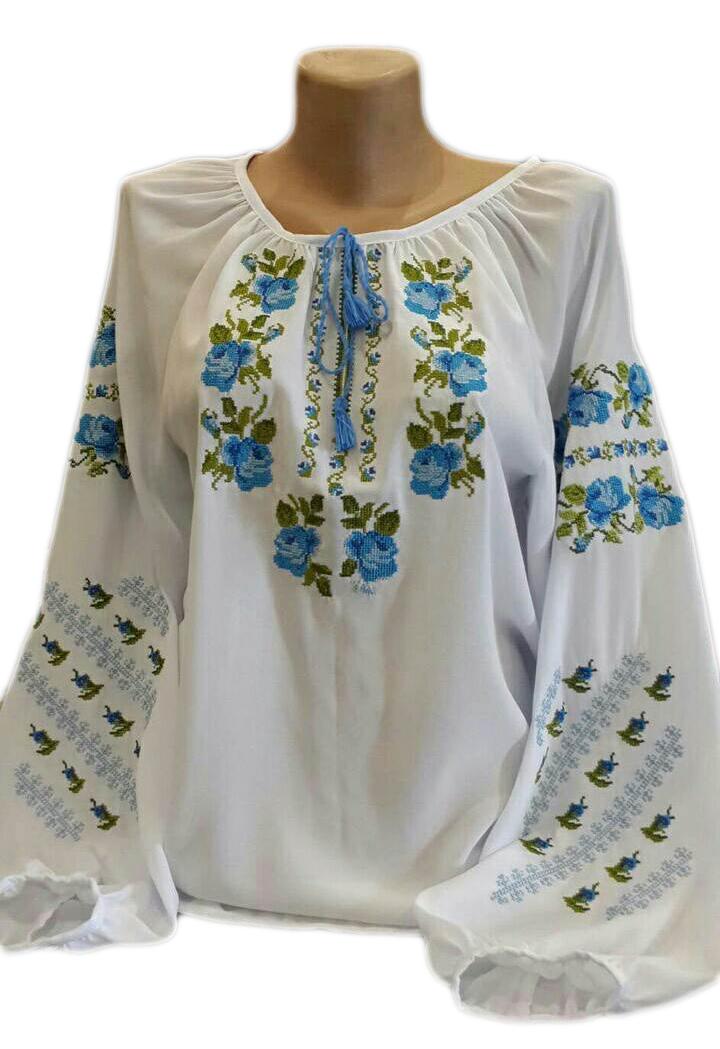 """Женская вышитая рубашка """"Ноллис"""" BU-0030"""