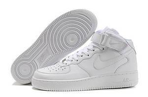 Мужские кроссовки Nike Air Force 1 High Белые