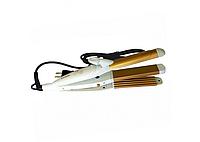 Плойка гофре для волос 3 in 1 Pro Mozer MZ-7023