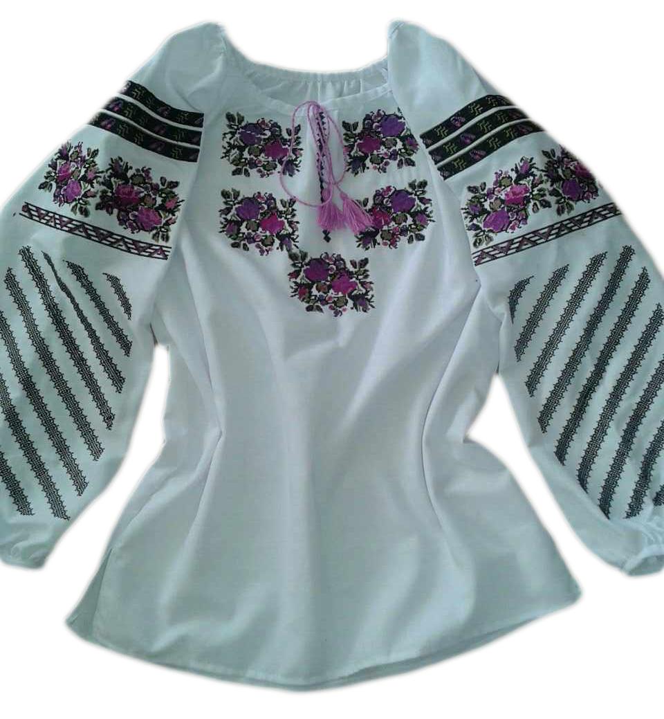 """Женская вышитая рубашка """"Нейзи"""" BU-0031"""