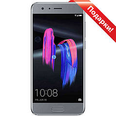 "➤Смартфон 5.15"" Huawei Honor 9 6/64GB Grey KIRIN 960 G71 камера 12 Мп 3200 mAh Android 7.0 автофокус"