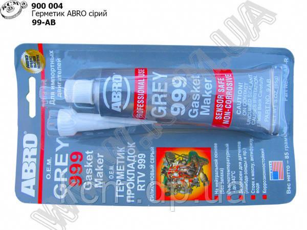 Герметик ABRO сірий (99-АВ)