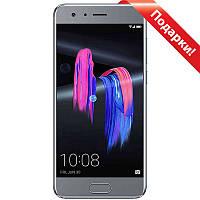 ☎Смартфон 5.15'' Huawei Honor 9 6/64GB Grey Full HD экран 8 ядер Камера 12 Мп Батарея 3200 мАч Android 7.0