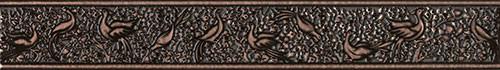 Бордюр Интеркерама Нобилис фриз вертикальный настенный 70*500 Intercerama Nobilis БВ 68 032 для ванной,кухни.