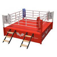 Ринг для бокса V`Noks Copetition 5*5*1 метр 60042