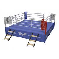Ринг для бокса V`Noks Copetition 6*6*1 метр 60044