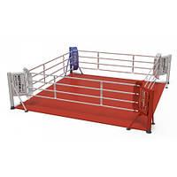 Ринг для бокса V`Noks напольный 5*5 метра 60037