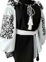 "Жіноча вишита сорочка (блузка) ""Мерліс"" (Женская вышитая рубашка (блузка) ""Мерлис"") BU-0032"