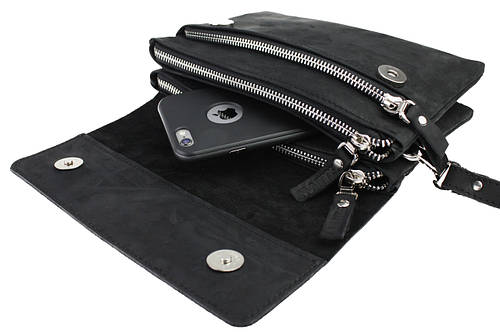 dae3fd8d6d2a Сумка мужская маленькая барсетка клатч SULLIVAN smmbk2(32) черная: продажа,  цена в Киеве. мужские сумки и барсетки от
