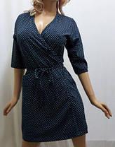 Купить халат женский хлопковый, размер от 44 до 50, Украина, фото 3