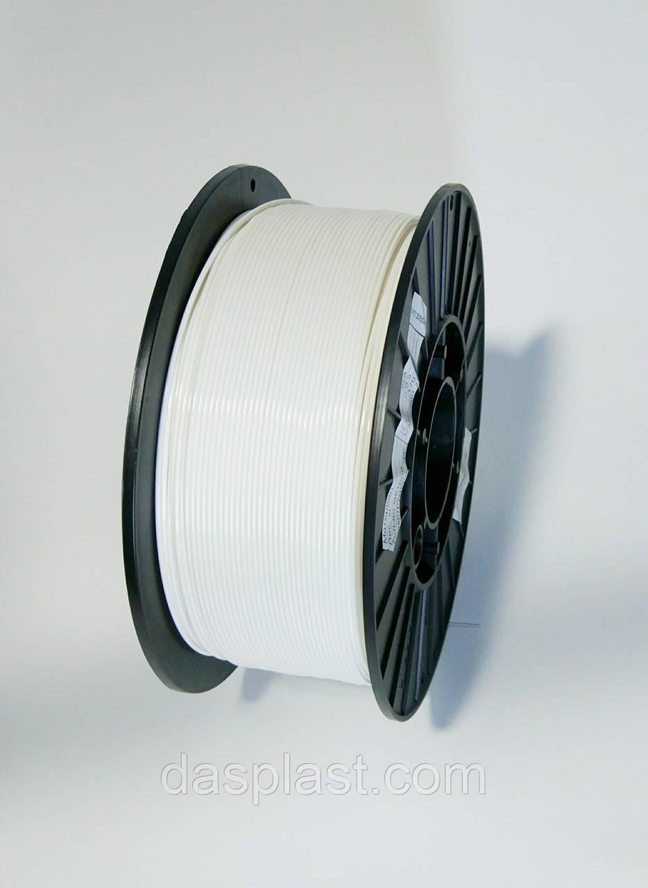 PLA пластик 1 кг, 1.75 мм, белый