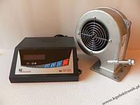 Контроллер для котла SP-05 LCD + вентилятор DP-02 (Польша)
