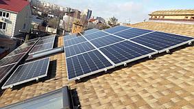 Одесса солнечная электростанция 8 кВт сетевая крышная под зеленый тариф Huawei