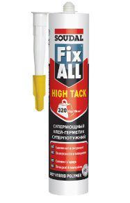 Клей-герметик Fix All High Tack белый 290 мл