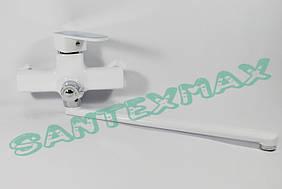 Смеситель для ванны Mixxus Missouri White 006 euro Белый